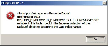 error 3015